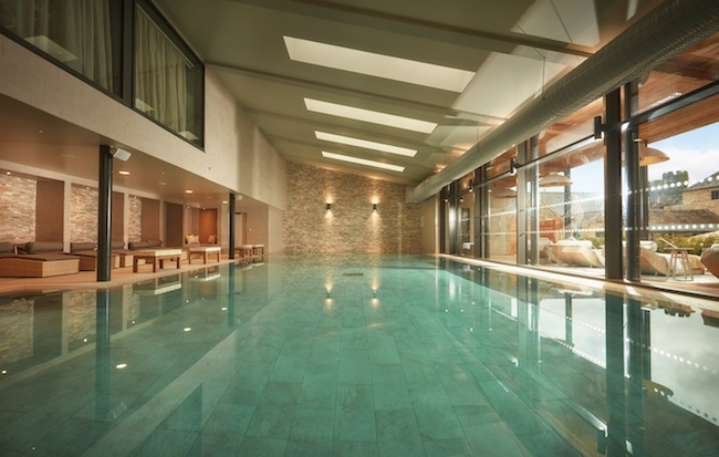 Swimming pool Spa of the week Swinton Park north yorkshire healthista