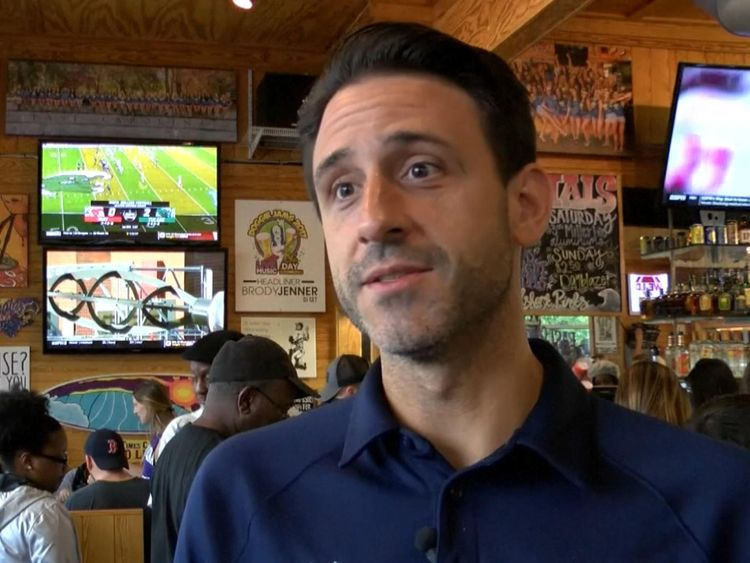 Restaurant owner Bret Oliverio said the tip was a 'once in a lifetime' moment