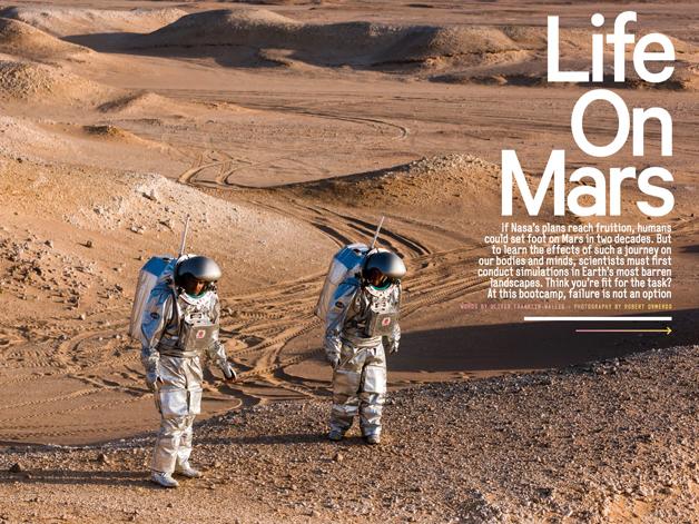 Men's Health December Life On Mars