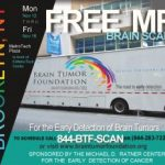 With free brain tumor screening, the road to early detection may be filled with potholes