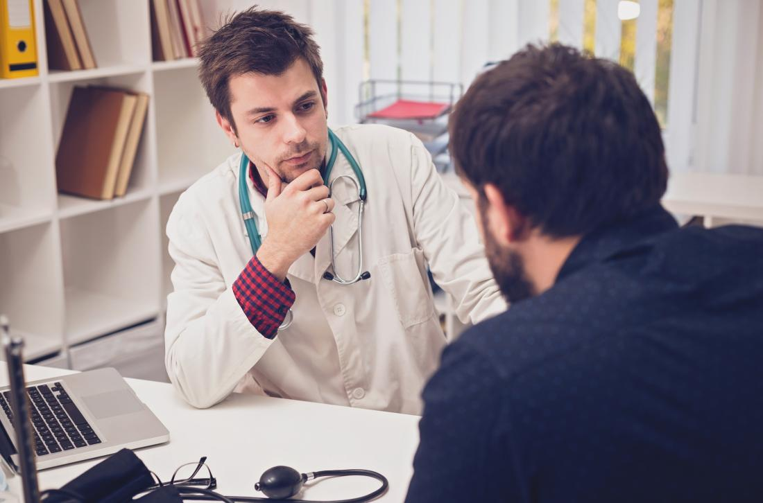 A doctor can offer advice if addiction is a concern.