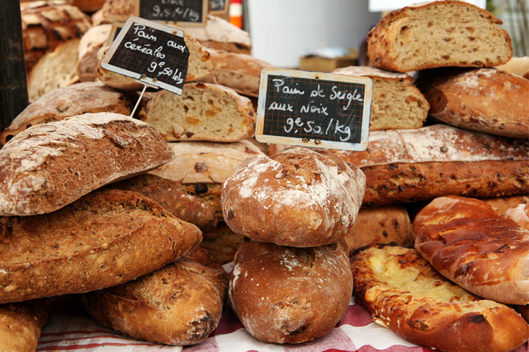 bread, bakery, loaves of bread, gluten, wheat, inflammatory food