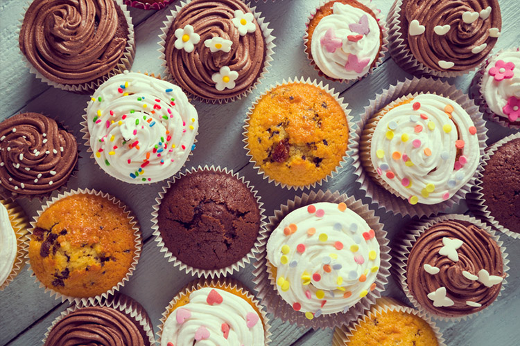 baked goods, muffins, cupcakes, inflammatory foods, trans fats