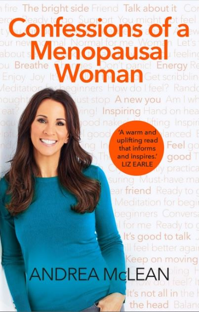 confessions of a menopausal woman andrea mclean