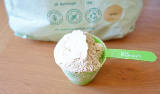 Bulk Powders Vanilla Vegan Protein Powder