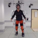 A mind-controlled exoskeleton helped a man with paralysis walk again