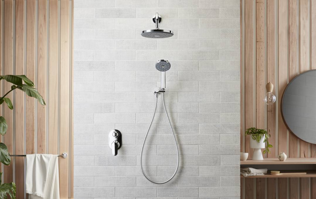 GO WITH THE FLOW: There has been a rising interest in efficient showerheads, as consumers know they can now enjoy an efficient shower that also feels good.