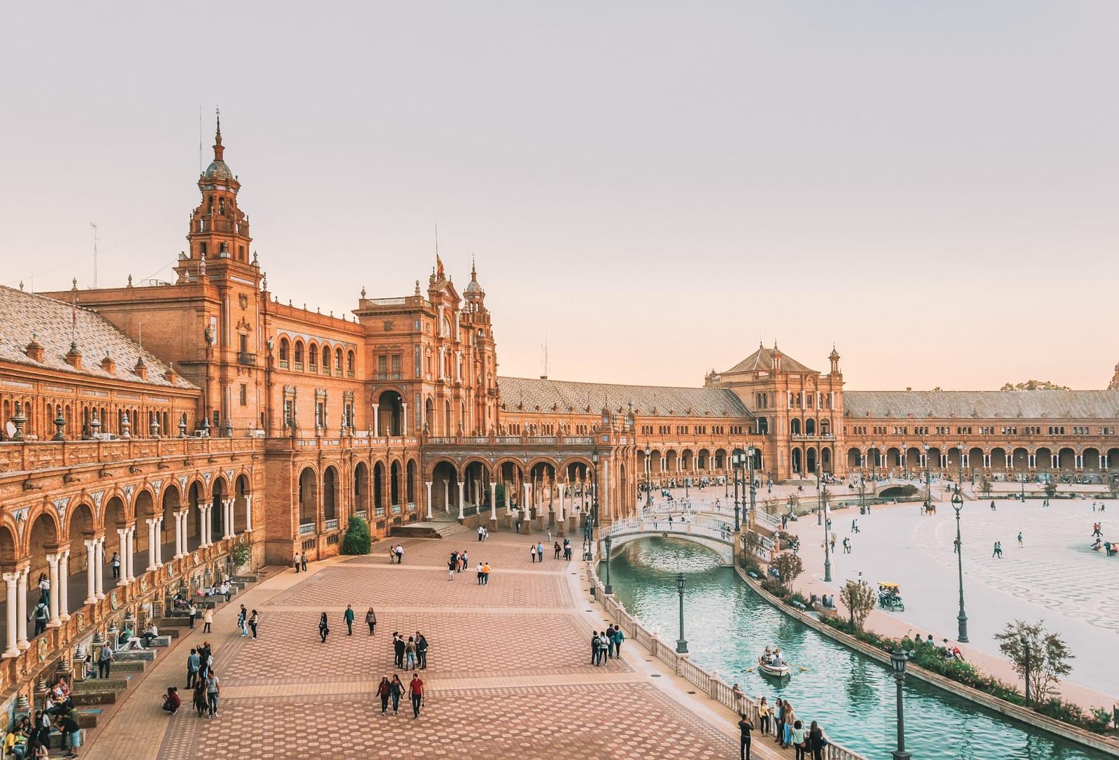 best cities to flirt in, seville
