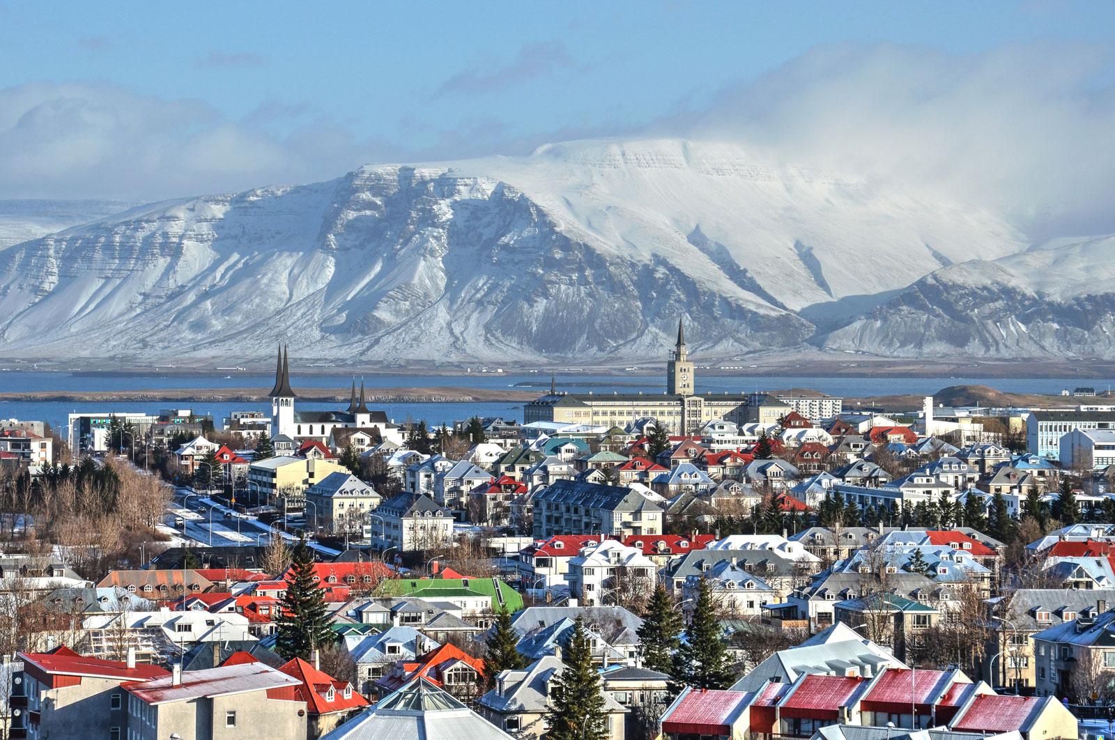 best cities to flirt in, reykjavik