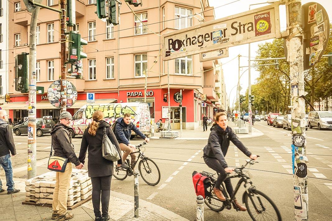 best cities to flirt in, berlin street