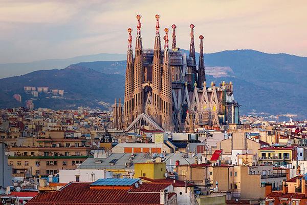 best cities to flirt in, barcelona