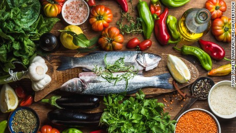 Mediterranean diet slows cognitive impairment, studies say